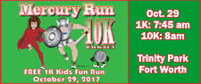 FWRC Mercury Run 10K Walk/Run