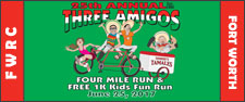 FWRC Three Amigos 4 Mile Run
