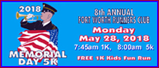 8th Annual FWRC Memorial Day Run