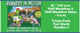 FWRC Runners in Motion