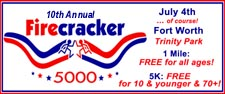 10th Annual Firecracker 5000