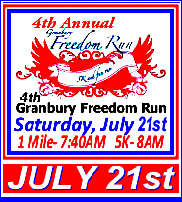 4th Annual Granbury Freedom Run
