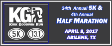 KGR Run the West Half Marathon & 5K