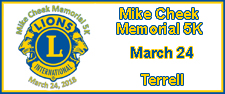 5th Annual Mike Cheek Memorial 5K