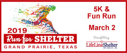 6th Annual Run for Shelter