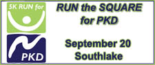 Run the Square for PKD 5K