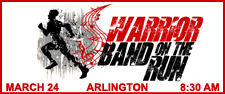 3rd Annual Warrior Band on the Run 5K